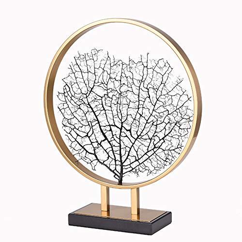 WACYDSD Lebensbaum Deko Skulptur Metall Figur Baum des Lebens Schmuckbaum Auf Metallsilber-Farbig Dekoration, Groß: 50 * 60 * 15 cm, Klein: 40 * 50 * 10 cm,small