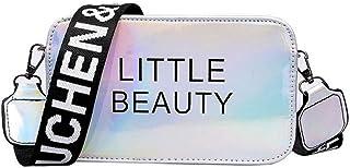 VJGOAL Schultertasche Damen Mädchen Kleine Quadratische Tasche Umhängetasche Student Handtasche …