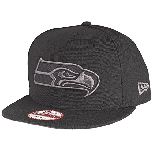 New Era 9Fifty Snapback Cap - Seattle Seahawks Noir