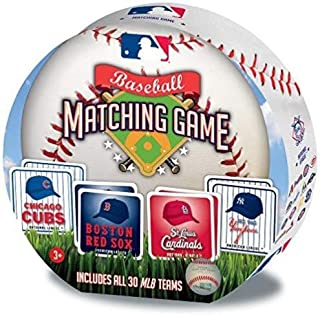 MasterPieces MLB Matching Game, Includes All 30 Baseball Teams, For Ages 3+