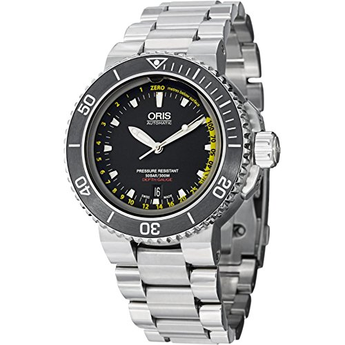 Oris Aquis Depth Gauge Stainless Steel Automatic Mens Watch 73376754154MB