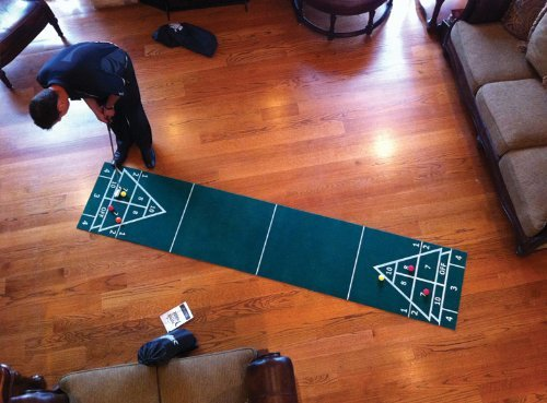 Putter Around The House 3 in 1 Shuffleboard and Bocce Games for Golf