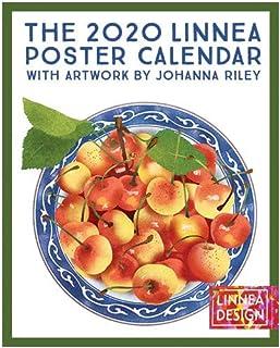 $34 Get Linnea Design 2020 Poster Wall Calendar 11 X 14 Inches Art by Johanna Riley