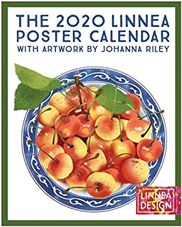 Linnea Design 2020 Poster Wall Calendar 11 X 14 Inches Art by Johanna Riley