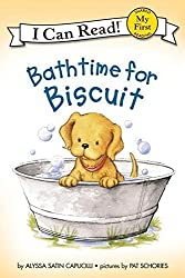Bathtime For Biscuit (Turtleback School & Library Binding Edition) (My First I Can Read Biscuit Level Pre 1)