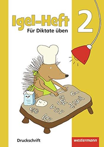 Igel - Hefte: Für Diktate üben: Arbeitsheft 2 DS