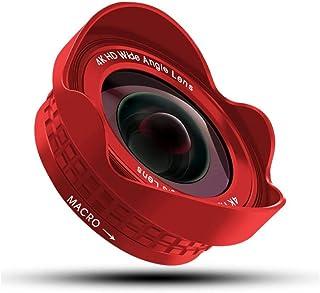 L.J.JZDY telefonlins mobiltelefon vidvinkel macro 2-i-1 lins 17 mm högupplösta fast fokus utan förvrängning självutlösare