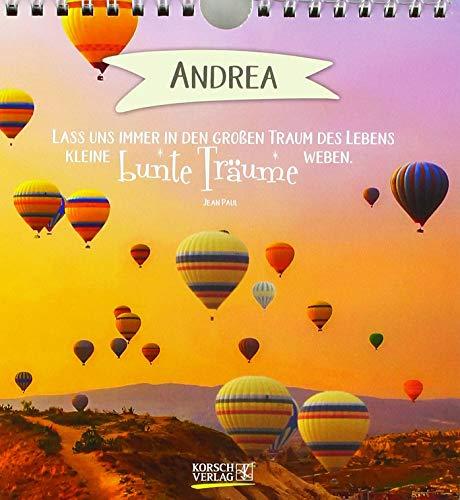 Namenskalender Andrea: Immerwährender Kalender