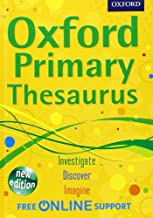 Oxford Primary Thesaurus by Oxford Dictionaries (2012-05-03)