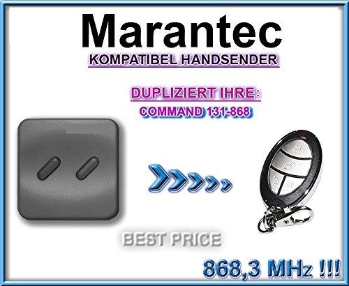 MARANTEC COMMAND 131 kompatibel handsender, klone fernbedienung, 4-kanal 868.3Mhz fixed code. Top Qualität Kopiergerät!!!