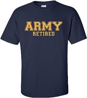 ZeroGravitee Army Retired Gold Logo Short Sleeve T-Shirt