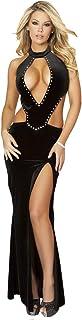 Fg Velvet Lingerie Dress For Women