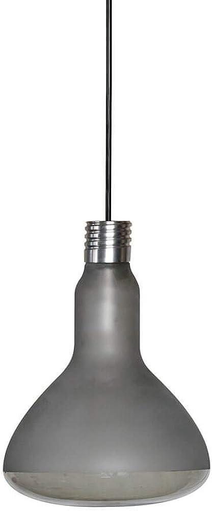Karman makeup led, lampada a sospensione ,in vetro  fumé SE1231F INT