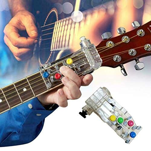 Guitar Learning System Lehrmittel Hilfsmittel für Gitarrenanfänger Drücken Sie einfach die Tasten und spielen Sie Gitarre