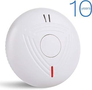 Detectores de Humo, Alarma de Incendio 10 años, Sendowtek