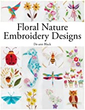 Floral Nature Embroidery Designs