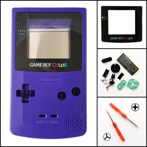 Carcasa de botón conductivo de repuesto para Gameboy Color GBC consola de...