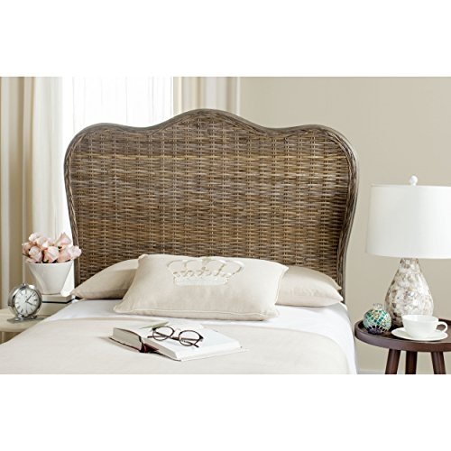 Safavieh Home Collection Imelda White Washed Headboard (Full)