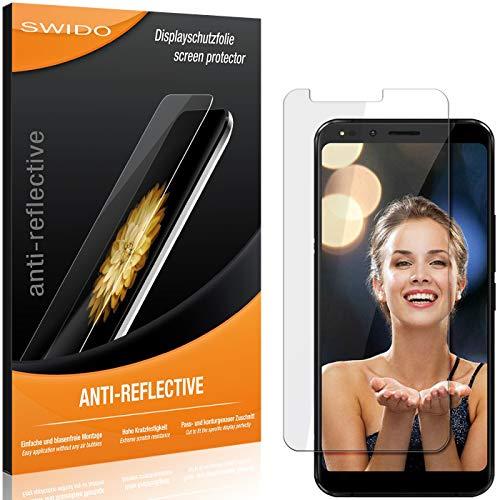 SWIDO Schutzfolie für Allview X4 Soul Infinity Plus [2 Stück] Anti-Reflex MATT Entspiegelnd, Hoher Festigkeitgrad, Schutz vor Kratzer/Folie, Bildschirmschutz, Bildschirmschutzfolie, Panzerglas-Folie
