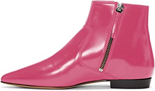 b2461c8397b Amazon.com: Pink Women's Ankle Boots & Booties