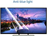 DPLQX Azul Claro contra Pantalla del televisor Filtro de 42 Pulgadas, Pantalla película Protectora Mate antideslumbrante, Reducir los Ojos y la tensión Fatiga de los Ojos, por LCD, HDTV OLED LED,A