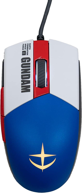 ASUS ROG Strix Impact II Gundam Edition - Ratón para juegos (edición limitada, interruptores intercambiables en caliente, iluminación RGB Aura Sync 79g, diseño ligero, ergonómico, cable de goma suave)