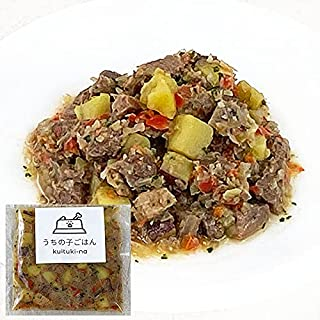 国産 無添加 手作り 犬用ごはん うちの子ごはん kuituki-na 馬肉とさつま芋のジャーマンポテト