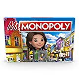 HiCollections MS. Monopoly Board Game; First Game Where Women Make More Than Men; Features Inventions by Women; Game for Families and Kids Ages 8 and up