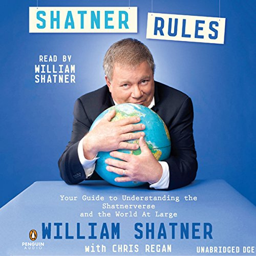 Shatner Rules audiobook cover art