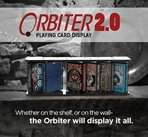 Orbiter 2.0 - The 360 Playing Card Display (6 Deck Display)