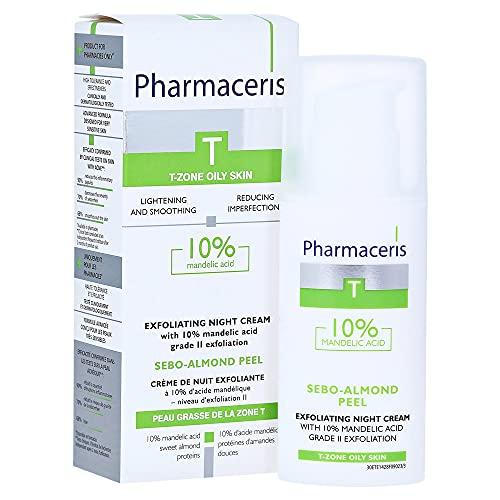 PHARMACERIS T SEBO - 10% MANDELIC ACID PEELING CREAM FOR ACNE, PRONE, OILY SKIN by PHARMACERIS