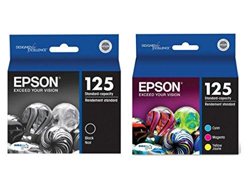 Epson 125 Ink Cartridge Complete Color Set