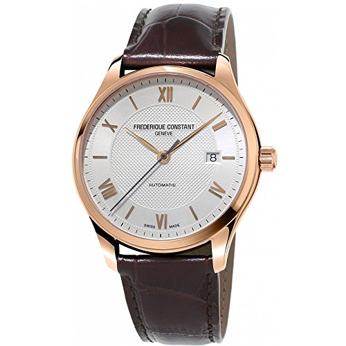 FREDERIQUE CONSTANT MEN'S CLASSICS 40MM BROWN AUTOMATIC WATCH FC-303MV5B4