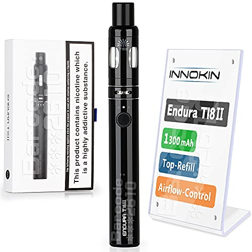 E Cigarette Vape Pen Starter Kit, Innokin Endura T18II 1300mAh, Variable...