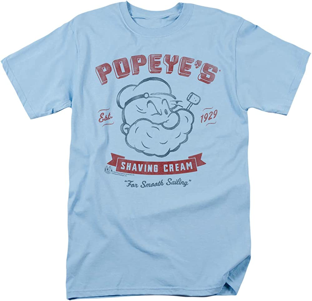 Trevco Spasm price Sportswear Our shop OFFers the best service PYE781-AT-4 Popeye Popeyes Cream-Sho Shaving