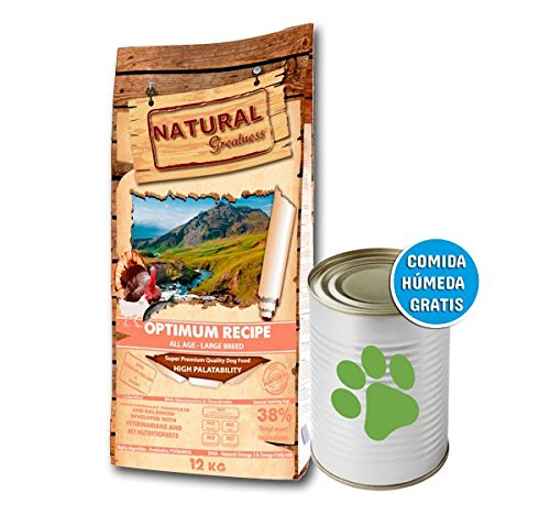Natural Greatness Optimum Large Breed Alimento Seco Completo para Perros - 12000 gr