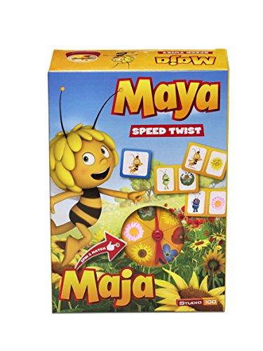 Studio 100 MEMA00001620 - Die Biene Maja - Reaktionsspiel Speed Twist
