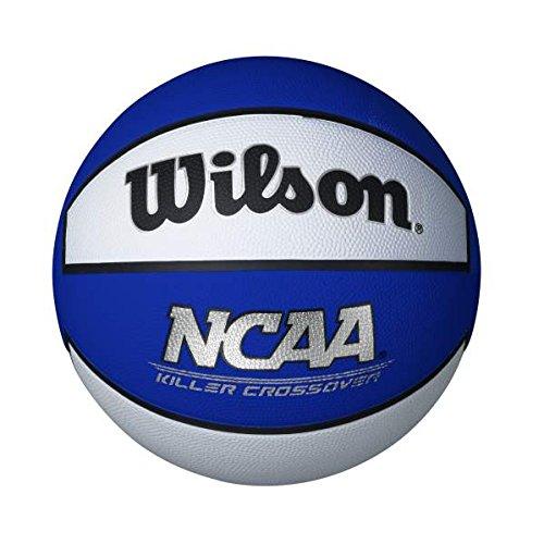 """Wilson Killer Crossover Basketball, Blue/White, Youth - 27.5"""""""