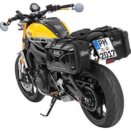 QBag Alforjas de Motocicleta para Bolsas de Motocicleta Par de alforjas 04...