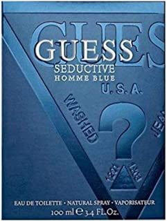 Best Guess Seductive Homme Eau De Toilette Spray for Men, Blue, 3.4 Ounce Review
