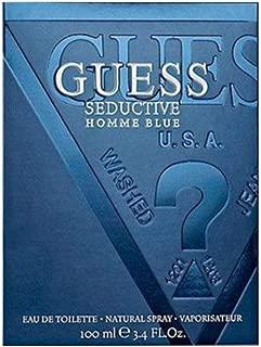 Guess Seductive Homme Blue for Men, 100 ml - EDT Spray