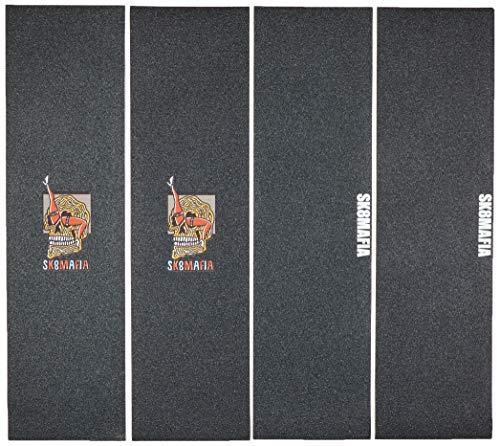 Sk8mafia Logo 9'x33' Griptape (4 Pack) Skateboard, Adulti Unisex, Multicolore (Multicolore), 9'