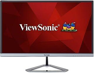 ViewSonic VX2776-SMHD 27-inch Full HD Frameless IPS Monitor (Ultra Slim Bezel VGA HDMI DisplayPort Speakers) - Silver