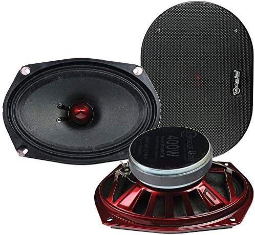 American Bass 6x9 Mid Range Speaker 400 Watts Max 4 Ohm Godfather 6 9 Series product image