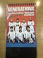 GENERATIONS 卓上カレンダー 2020