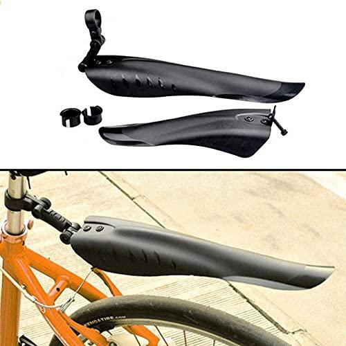 ZGYCYDLX Enfriar Bicicletas Guardabarros Delantero/Trasero del Neumático Rueda De Fibra De Carbono Guardabarros Guardabarros MTB Montaña Bici del Camino Fix Gear Accesorios Guardabarros de Bicicleta