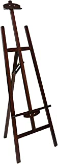 Marble Field Adjustable Wooden Tripod Easel Display Floor Easel Sketch Painting Portable Brown