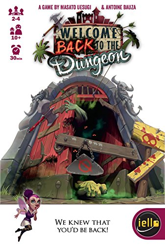 IELLO IEL51305 Brettspiel Welcome Back to The Dungeon