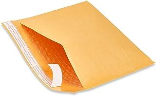 """Naturelife Wholesale Kraft Bubble Mailers Padded Bubble Envelopes for Ebay Paypal Shipping Envelopes Sizes #0#00#000#1#2#3#4#5#6#7! (#1-200 Envelopes - 7.25"""" X 12"""")"""