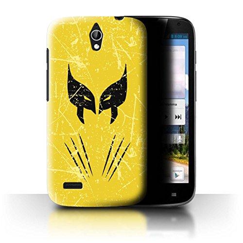 Hülle Für Huawei Ascend G610 Antiheld Comic-Kunst Wolverine Inspiriert Design Transparent Ultra Dünn Klar Hart Schutz Handyhülle Case